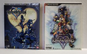 Kingdom Hearts 1 & 2 Strategy Guides for Sale in Austin, TX