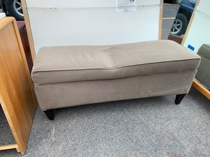 Beige bench for Sale in Ashland, OR