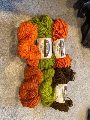 6 skeins virgin yarn for Sale in Kent, WA