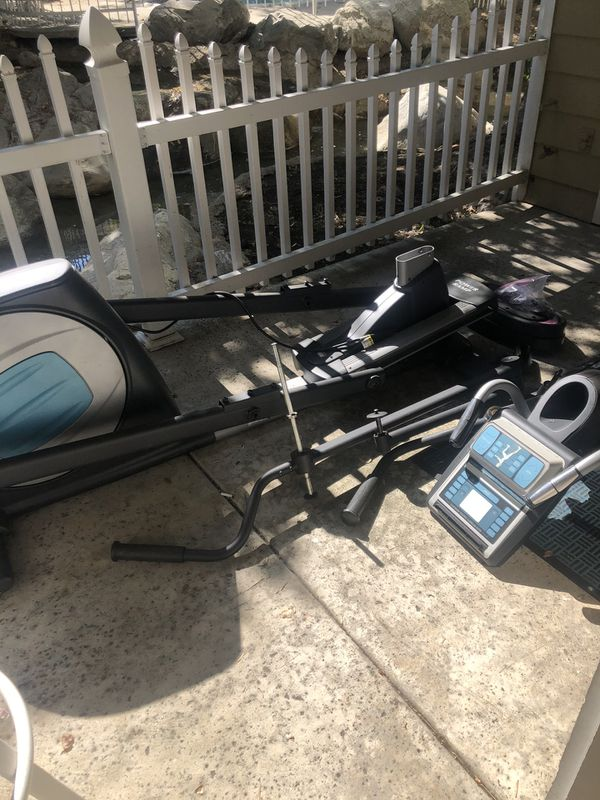Nordictrack commercial 1300 elliptical for sale. It's in excellent condition. I just moved to my new place and there isn't room for it. It was hardly