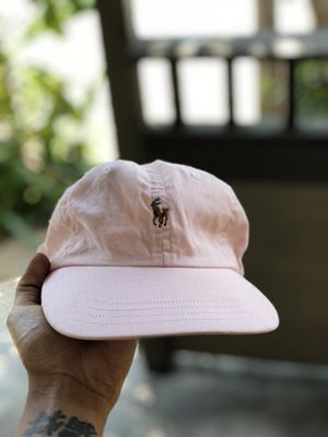 Pink Polo Ralph Lauren Dad Hat for Sale in Houston, TX