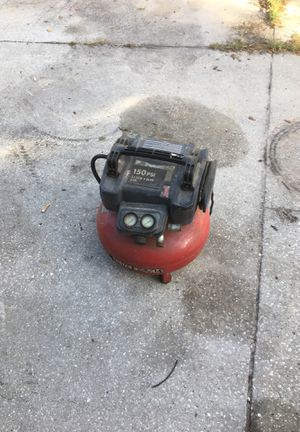 Porter cable air compressor for Sale in Spring Hill, FL