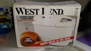 Brand new West Bend automatic bread and dough maker for Sale in Providence, RI