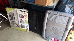 Large Kong Dog Crate With 2 Kong Crates Mats & A Open'N Stop Safety Gate! for Sale in PA, US