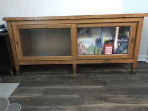 Wooden credenza for Sale in Seattle, WA