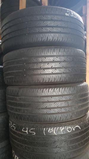 235/45/19 Continental Tire Set for Sale in Chula Vista, CA