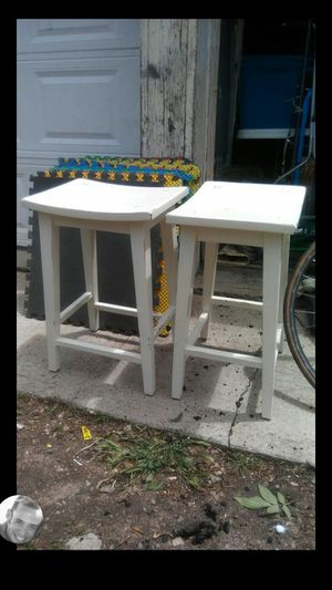 Saddle Style Stools {2} for Sale in Denver, CO