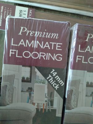 Laminate flooring still in the box for Sale in Tyler, TX