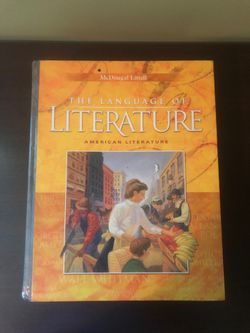 McDougal Littell The Language of Literature American Lit Textbook for Sale in Autaugaville,  AL