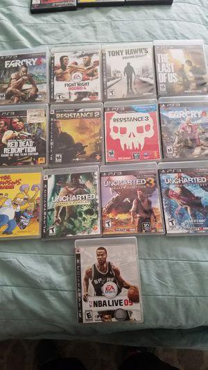 PS3 console games for Sale in Rialto, CA