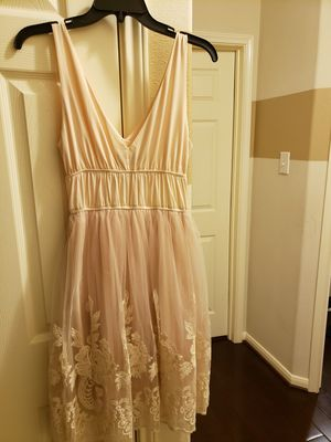 Nude party dress for Sale in Spring, TX