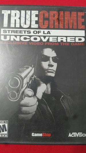 TRUE CRIMESTREETS OF LA UNCOVERED DVD for Sale in Miami Gardens, FL