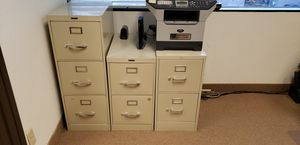 Metal cabinets 2 drawer for Sale in Fountain Valley, CA