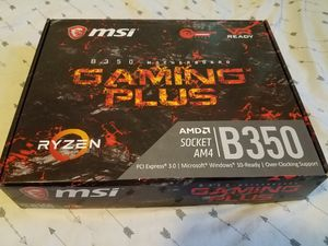 MSI B350 Gaming Plus AM4 Motherboard for Sale in Appleton, WI