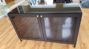 Hutch with Glass Shelving and Top for Sale in Yardley, PA