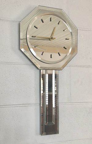 Mirrored Wall Clock for Sale in Spring Hill, FL