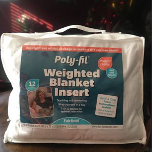 Poly -Fil Weighted Blanket Insert for Sale in Tolleson, AZ