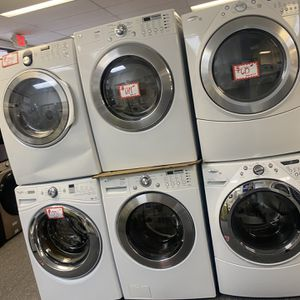 LG Front Load Washer And Dryer Electric Set Excellent Conditions 4 Months Warranty for Sale in Laurel, MD