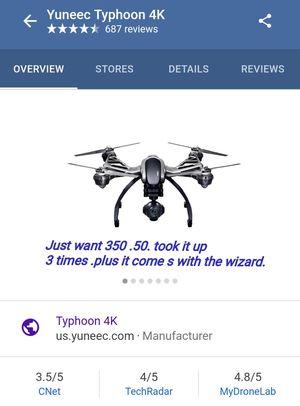 Yunecc. Q500 thyphoo Drone for Sale in San Antonio, TX
