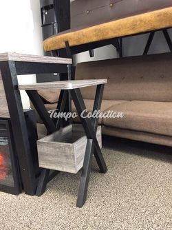 End Table, Grey and Black, SKU# ID161861TC for Sale in Norwalk,  CA