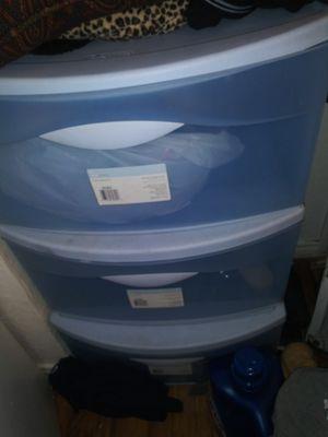 3 drawer plastic storage bin for Sale in Fort Worth, TX