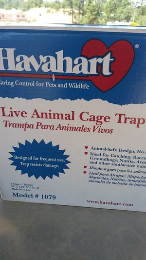 Have a heart animal trap for Sale in Payson, AZ