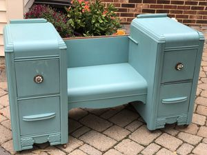 Antique Vanity with Chair for Sale in Fairfax, VA
