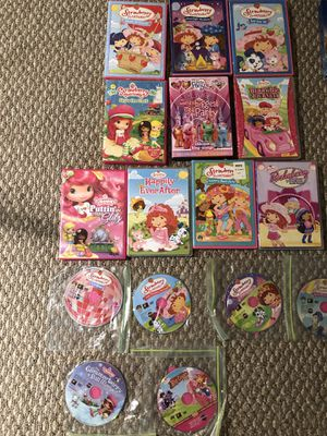 Strawberry shortcake movies $5.00 each for Sale in Indian Trail, NC
