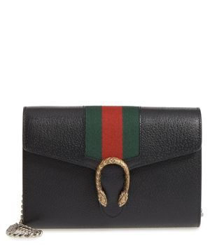 GUCCI Dionysus Web Stripe Leather Bag Wallet on a Chain for Sale in Los Angeles, CA