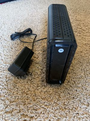 Motorola SB6121 cable internet modem for Sale in Camas, WA