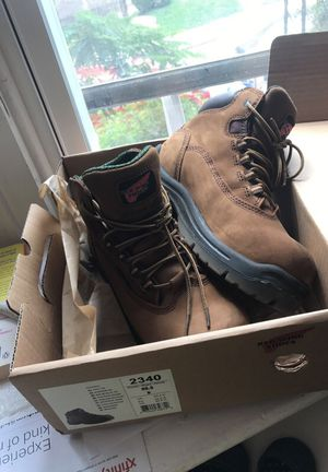 Red wing working boots for Sale in Philadelphia, PA