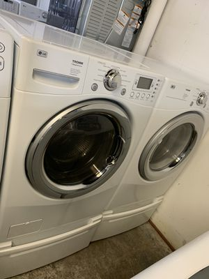 LG TROMM SET STEAM for Sale in Bellaire, TX