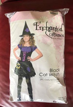 2 Piece Black Witch Halloween Costume for Sale in Silver Spring, MD