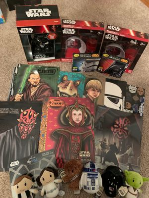 New: Star Wars Miscellaneous Collection for Sale in Chippewa Falls, WI
