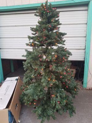 7 ft Pre lit Tree for Sale in Stockton, CA