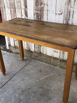 Wooden Kitchen or Work Table for Sale in Los Angeles,  CA