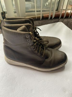DR MARTENS Mens Rigal Soft Boots Leather Lace Up Doc Men's size 12 Work Boots/ hiking boots/ everyday for Sale in Carson, CA