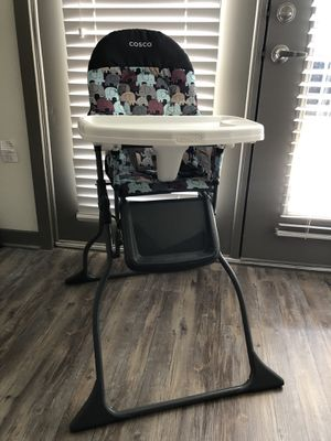 Cosco simple fold high chair kids for Sale in Dallas, TX