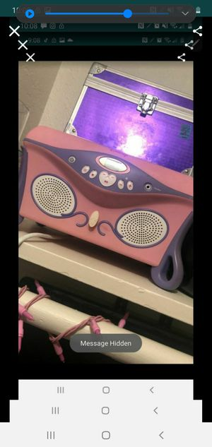 Princess radio /cd player for Sale in Fresno, CA