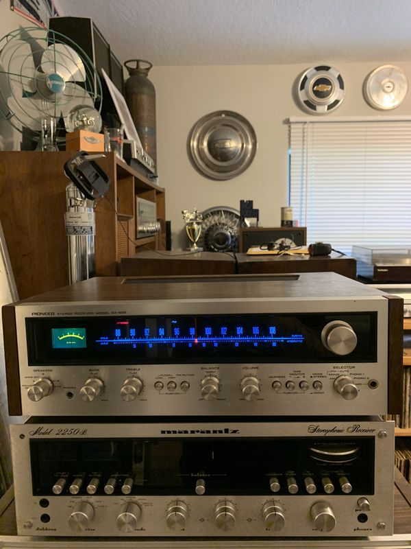 Pioneer sx-626 receiver