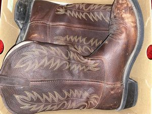 Double H work western boots for Sale in Clovis, CA