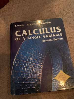 High School Calculus Book for Sale in Lafayette, CO