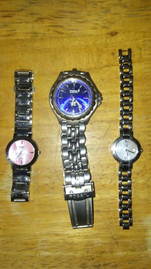 3 watches for sale for Sale in Hollywood, FL