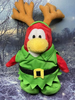 "Disney Club Penguin holiday elf reindeer Series 1 plush 8"" for Sale in Bellflower, CA"