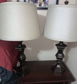 Set of lamps for Sale in Irving, TX