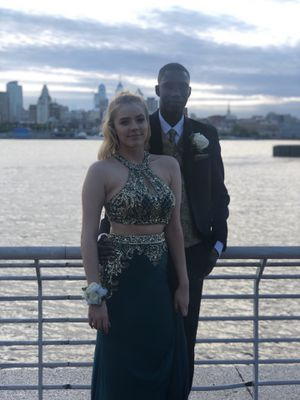 Sexy two piece prom dress for Sale in Feasterville-Trevose, PA