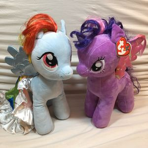 """Large 17"""" My Little Pony Set of 2 for Sale in Channahon, IL"""
