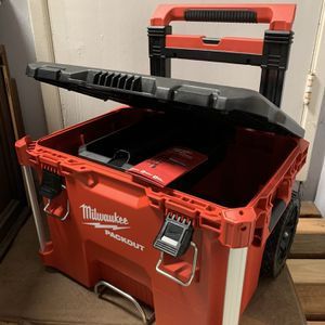 Brand New Milwaukee Packout Rolling Tool Box for Sale in Mountain View, CA
