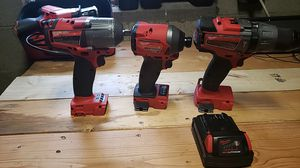 Set milwaukee m18 fuel for Sale in Columbus, OH