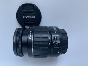 Canon lens 18-55mm image stabilizer for Sale in Brooklyn, NY